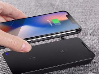 Incarcator fara fir qi wireless iPhone XS Max XS XR X 8 8 Plus Samsung s9 s8 S7 S6 Note 9 8 5