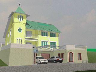 Casa nefinisata Buicani Durlesti cu 3 niveluri ,mansarda