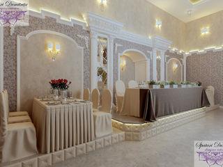 Design interior sală de banchet!
