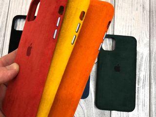 Замшевый чехол для iPhone 11 Alcantara