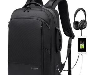 Rucsac multifunctional Bange S-55 pentru laptop 15.6'', negru