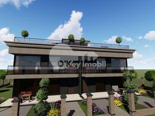 Duplex în 2 nivele, 173 mp + teren 3.5 ari, versiune albă, Cricova 110000 €!