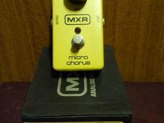 MXR pedals