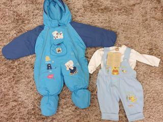 Pantaloni sport din jerseu subțire (3 luni - 7 ani)