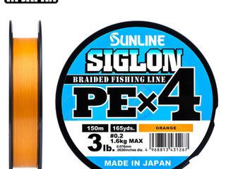 Оригинальные япоснкие шнуры Sunline Siglon X4 X8 Pe, Super Pe, Braid 8 Pe. Намотка и доставка