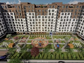 Apartament cu 2 camere de la dezvoltator, Buiucani