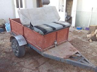 Remorca pentru motobloc. Se poate si la mini tractor.