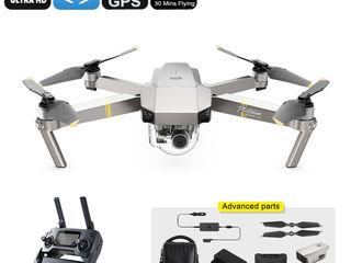 DJI Mavic Pro Platinum Drone Combo - 65km/ora, 4K Camera, 30 Minute in Zbor, distanta - 15KM, GPS...