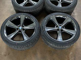 BMW X5/X6 R21 Liquid Black BMW New !!!