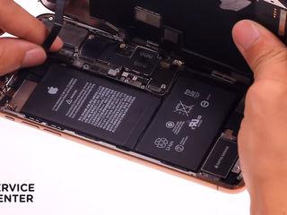 iPhone XS MAX 256 G Bateria nu se încarcă? О vom înlocui fără probleme!