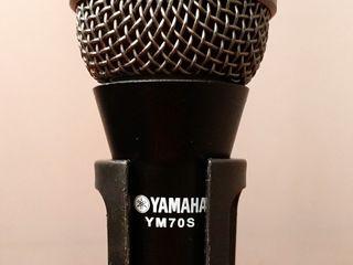Микрофонная стойка с вокальным микрофоном Yamaha YM70S