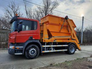 """Evacuarea gunoiului deseurilor din constructii containere 8m3 """"Skippy"""" SRL"""