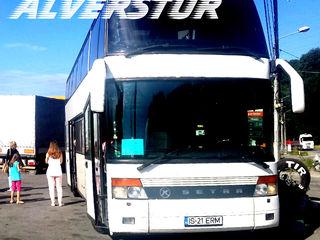 Italia - Moldova - Italia cu autocare.Zilnic.Alverstur