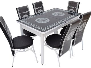 Set de masă cu scaune în credit,la reducere,lirare gratuită !