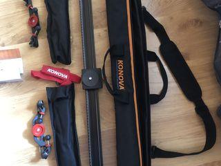 Konova K2 camera slider kit 100cm / Legs/ Bag - Excellent condition