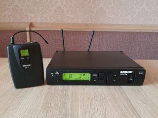 Shure ULX S microfon pentru instrument. Profesional. Made in Mexico. Frecvente bune (662-698MHz)