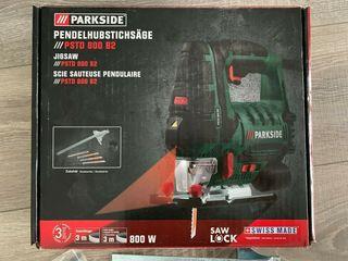 Лобзик электрический, новый, 800W с лазерной направляющей и подсветкой рабочей зоны!