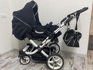 Cărucior transformer 2 în1+ pătuc italian pentru copiii pînă la 3 ani!!!