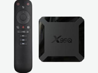 Новая модель X96Q 2/16Gb + IPTV каналы + пульт G10 / G20 / G50 на выбор!