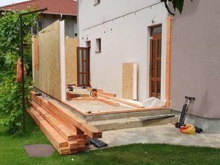Тёплые пристройки,мансарды,балконы по новой технологии (быстро,без шума и грязи)