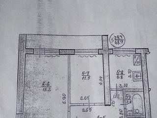 Продам двухкомнатную квартиру в кооперативном доме , возле музыкальной школы