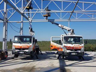 Servicii autoturn 18m -24 m : taierea copacilor , spalarea fatadelor-geamurilor .Calitatea garantata