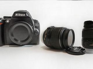 Nikon D60 + объектив Nikkor 18-55 f 3,5-5.6 VR