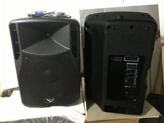 Boxe Mari  ,,M-Voice'' activa + pasiva    800 W+ 800 W  tot la  6000 lei - Perechea !!!