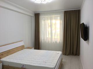 Totul e nou! Chirie apartament cu 1 odaie in bloc nou,et. 1,supr. 50 mp,dotat cu mobila și tehnica!