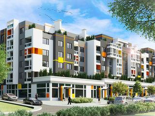 2 camere + living în Orhei. Bloc nou - Dansicons - direct de la companie - în rate