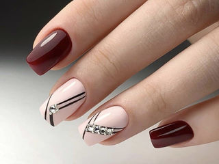 Alungirea unghiilor, corectie, acoperire gel/gel-lac, salon specializat pe manichiura! centru!
