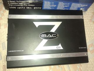 Mac audio 1500w 4 canale