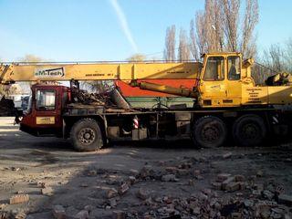 Servicii automacara 25t 32m si 6t 11m / Услуги автокрана(transfer/numerar)