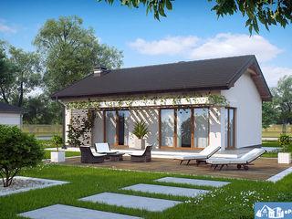 Уютный, современный, тёплый, экономный дом 95 м.кв. 58811 Евро