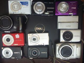 Фотоаппараты от 50 лей рабочии