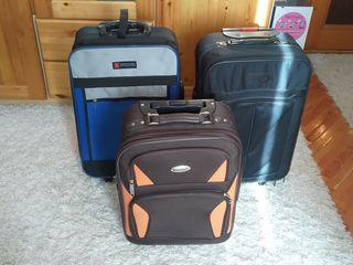 3 чемоданчика на колёсах