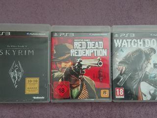 Elder Scrolls V: Skyrim, Red Dead Redemption и Watch Dogs на PS3