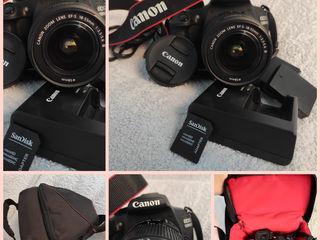 Фотоаппарат Canon eos 1200d чехол и вторая батарейка в подарок