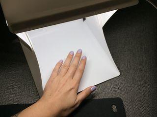 Световой лайткуб 22 cm x 24 cm / LED LightBox portable
