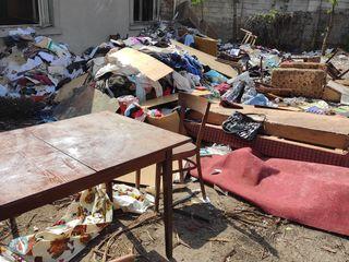 Вывоз мусора  Evacuarea gunoiului