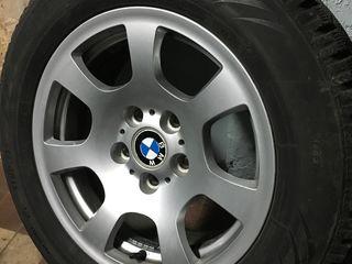 Диски BMW оригинал с зимней резиной