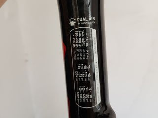 Вилка для велосипеда