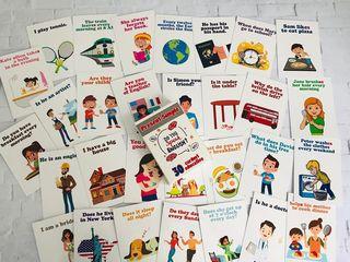 Set de cartonașe pentru copii / набор детских карточек