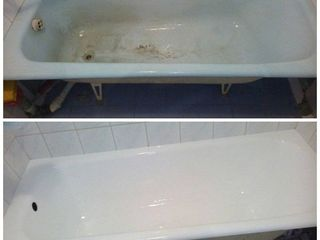 """Профессиональное реставрация ванн """"дайте вашей ванне второй шанс"""" Кишинев, Криуляны, Дондюшаны"""