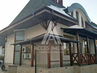 Casă în 3 nivele! Buiucani, 250 m2, 4 ari, Euroreparație! Piscina, saună, terasă!