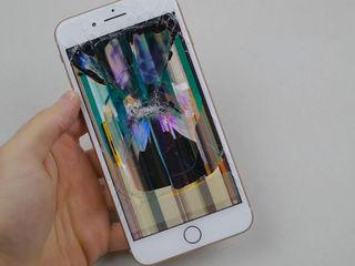 Iphone 8/8+ разбил экран -заберём, починим, привезём !!!