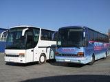 Пассажироперевозки по всей Европе. Комфортабельные автобусы Setra