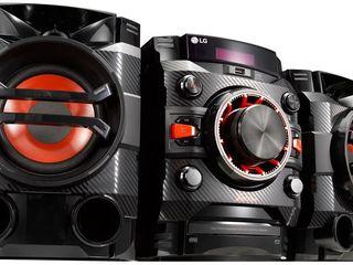 Мощная акустическая система от LG XBOOM, Бесплатная доставка по всей Молдове (Новые, запечатанные)