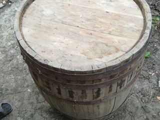 Бочка 200 lit.Бочка деревянная дубовая не использовалась не разу!