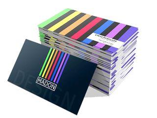Срочная печать визиток, Кишинёв, Ботаника - 1000шт. 300 лей (2-3 часа*) изготовление визиток